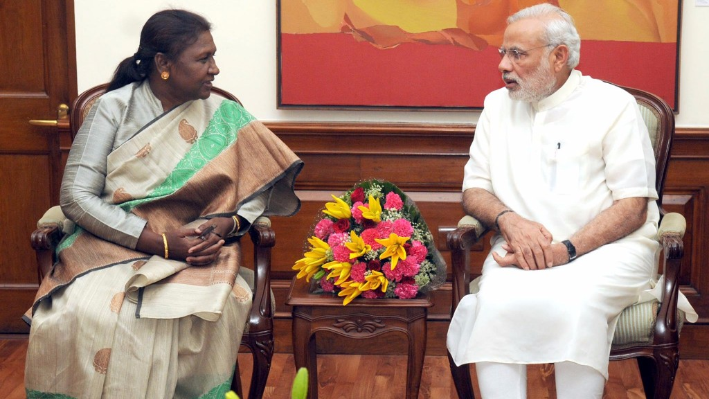 Jharkhand governor Draupadi Murmu