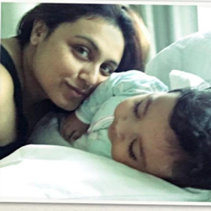 Rani Mukherji was recently spotted with her Adira