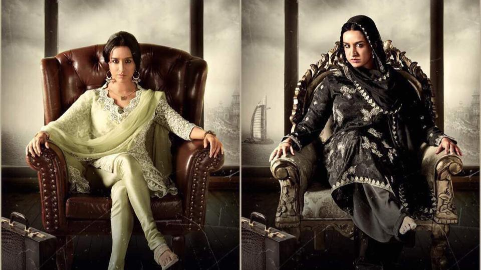 Shraddha Kapoor's intense Haseena look gets a thumbs up from Bollywood