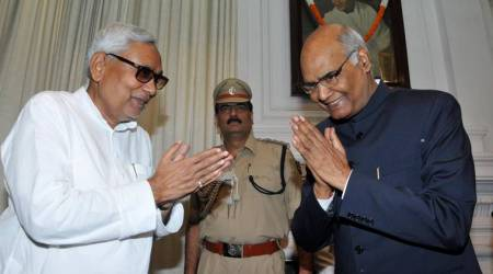 Bihar Chief Minister Nitish Kumar on Monday showered praise on Governor Ram Nath Kovind