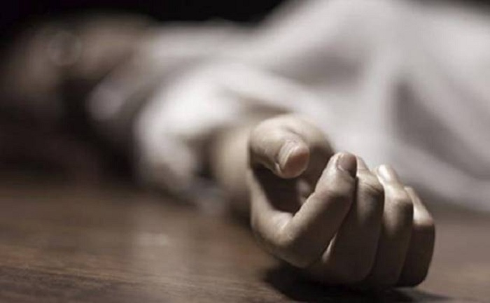 A 54-year-old farmer committed suicide on Monday in a village in Madhya Pradesh