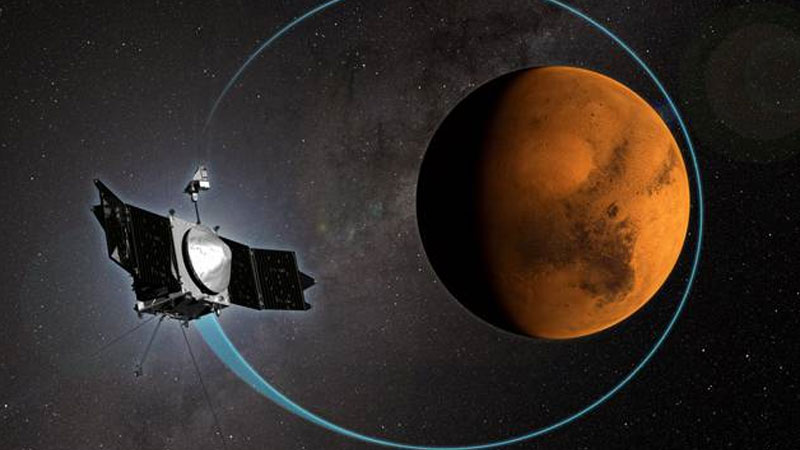 MAVEN reveals how Sun stripped Mars' atmosphere