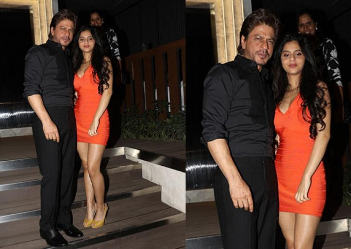 Suhana looked stunning in Gauri's restaurant launch event