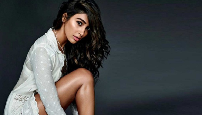 Actress Pooja Hegde, says she cannot comment about the project at the moment