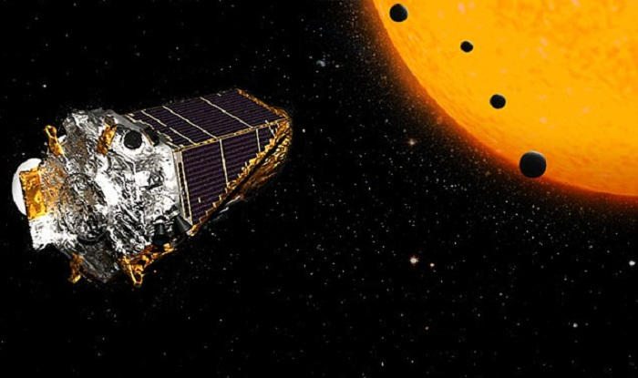 US space agency NASA announced that its Kepler space telescope has discovered 219 new planet candidates