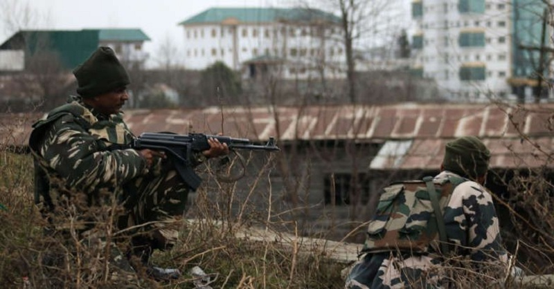 Two militants were killed on Wednesday in a gunfight