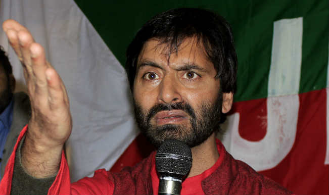 Jammu and Kashmir Liberation Front (JKLF) chief Yasin Malik was arrested