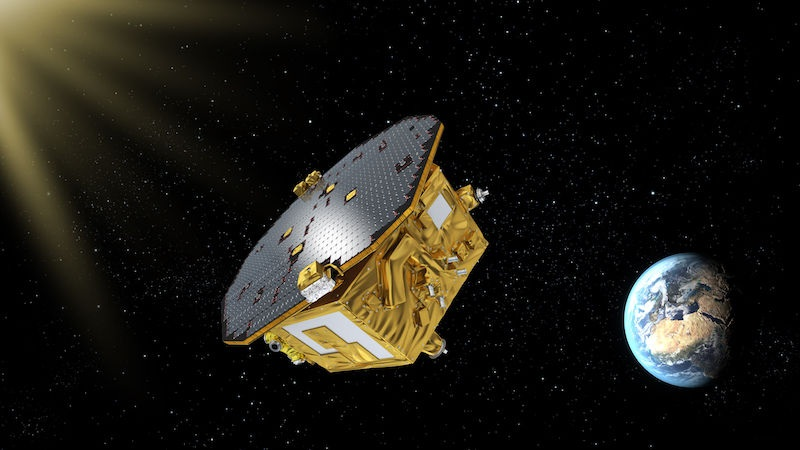 The European Space Agency (ESA) has selected the Laser Interferometer Space Antenna (LISA) to study gravitational waves in space