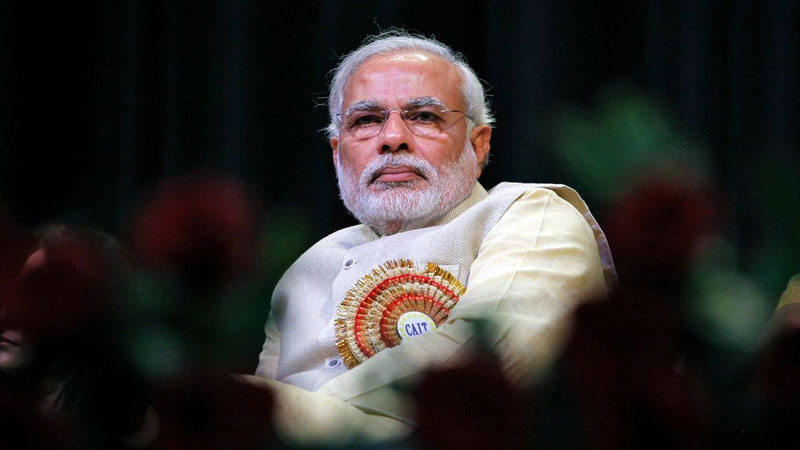 Prime Minister Narendra Modi during a function