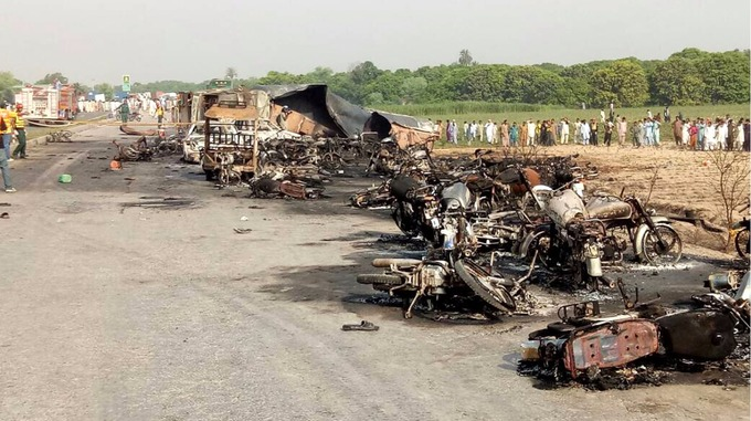 Tanker explosion in Pakistan: Death toll rises to 123