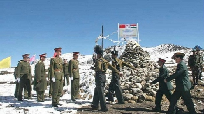 China said it had complained to India about Indian troops trespassing