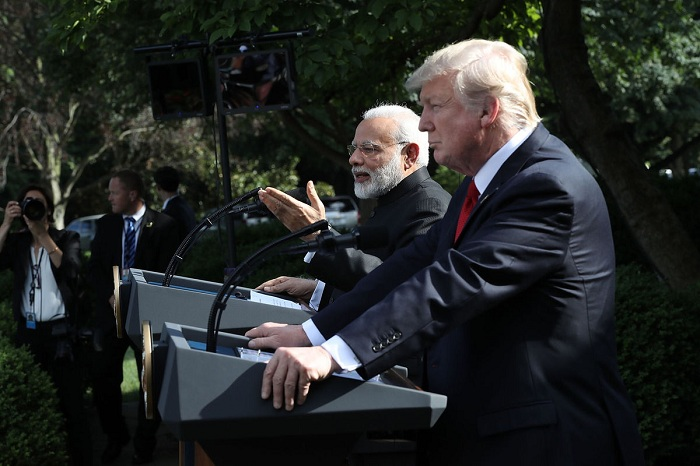 India and the US on Monday reiterated their commitment to cooperate in the fight against international terrorism