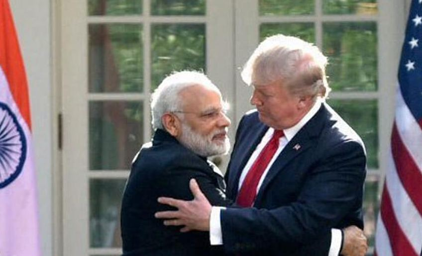 Trump-Modi warmth aimed at China: Foreign Media