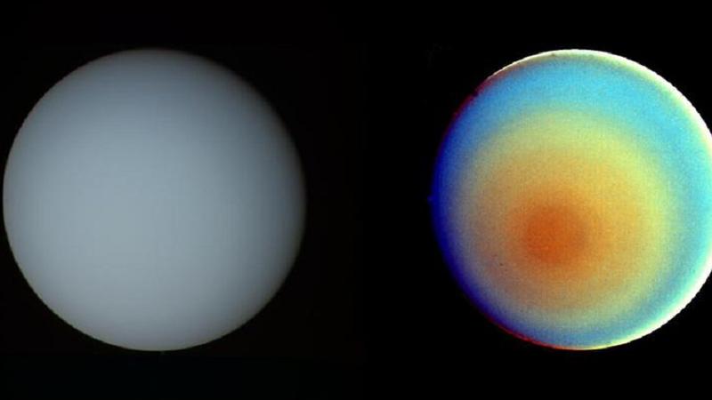 Uranus' unusual rotation creates light switch effect: Study