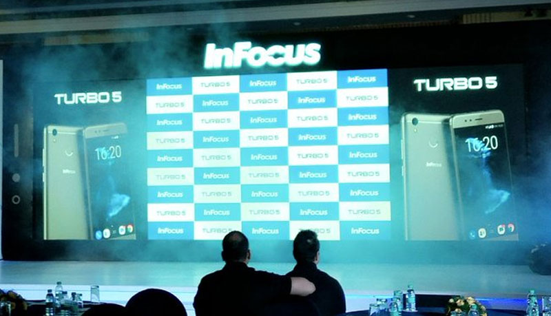 InFocus Turbo 5 smartphone launch in India (Pic Credits: Ankit Pal)