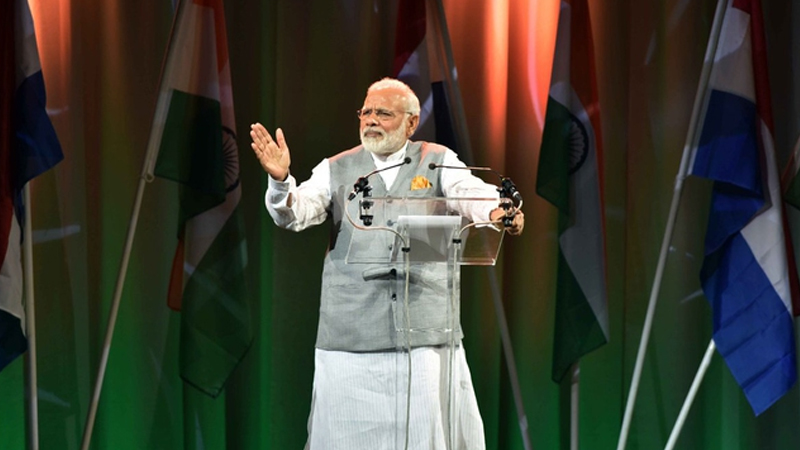 In Netherlands, Modi pitches for women empowerment in India