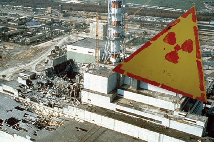 The automatic radiation monitoring system at the Chernobyl nuclear power plant here has been hit by a cyber attack