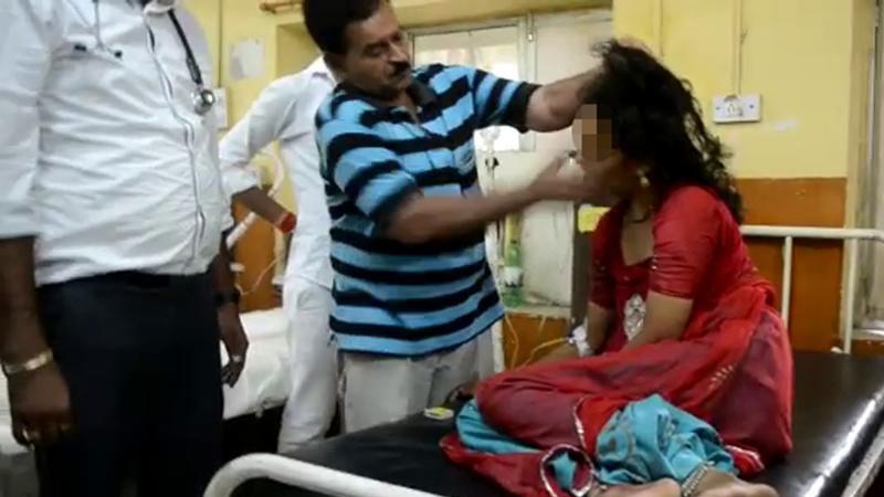 Jaipur Doctor treating 'possessed' woman via slap therapy