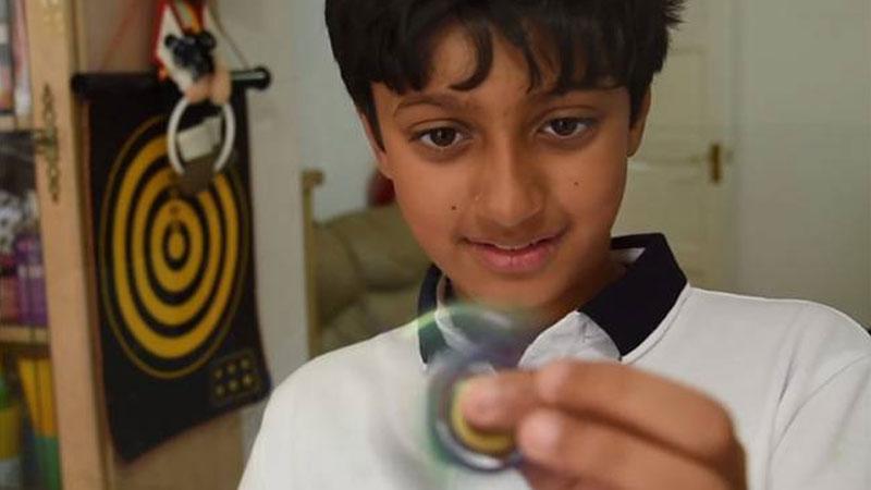 Arnav Sharma who topped Mensa IQ Test