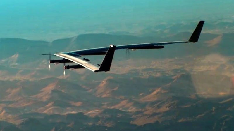 Facebook's solar-powered internet drone Aquila completes test flight