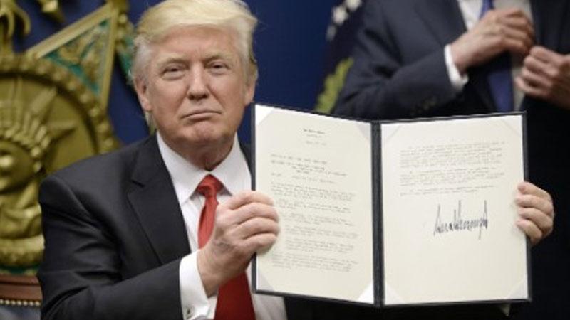 Donald Trump signs revised travel ban