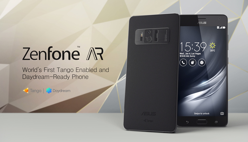 ASUS ZenFone AR smartphone with 8GB RAM and Google Tango-enabled launched in india; Check features