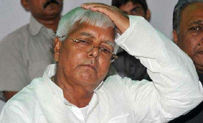 RJD chief Lalu Prasad on Friday lost his cool