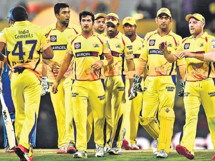 CSK in IPL and RR made a re-entry into the cash-rich Twenty20 cricket league