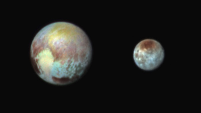NASA has released new maps of Pluto and Charon