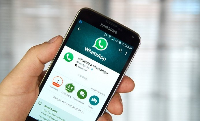 WhatsApp Messenger New features allows for sharing all types of files on the app