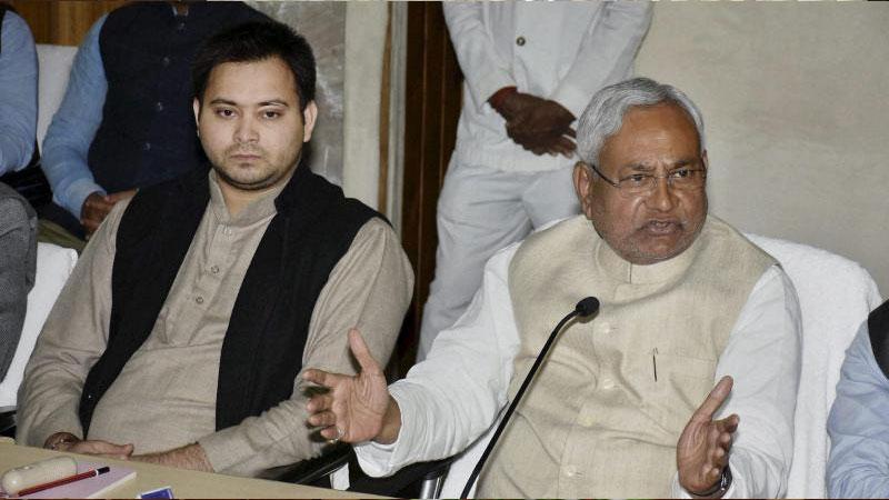 Nitish Kumar to take final call on Tejashwi post Presidential Polls