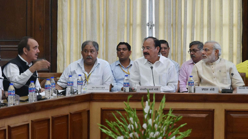 Parliament Monsoon Session: Centre calls for all-party meeting
