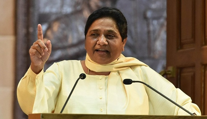 Mayawati expressed happiness that a Dalit would become the next President
