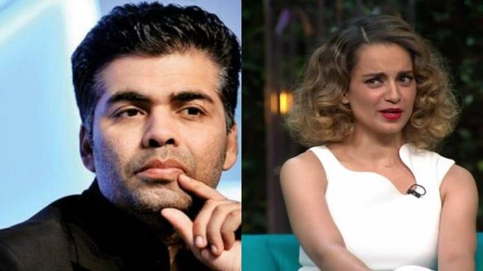 Karan Johar didn't shy away from raking up the nepotism debate