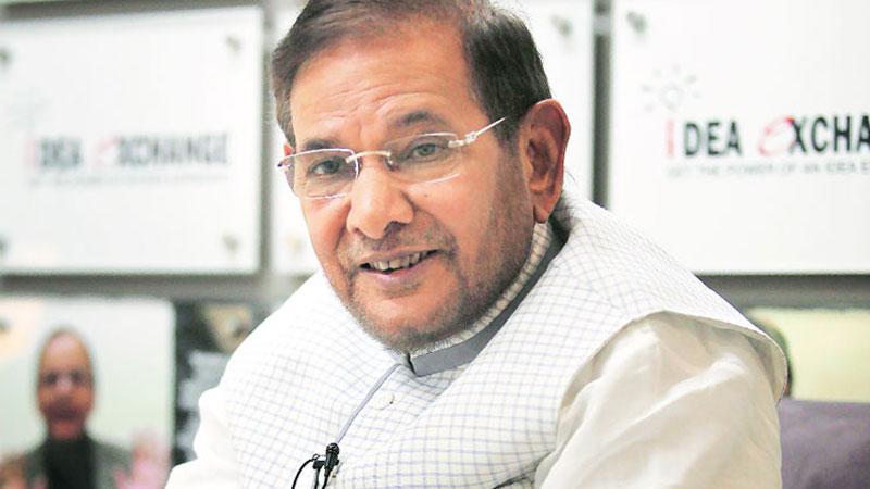 Sharad Yadav removed