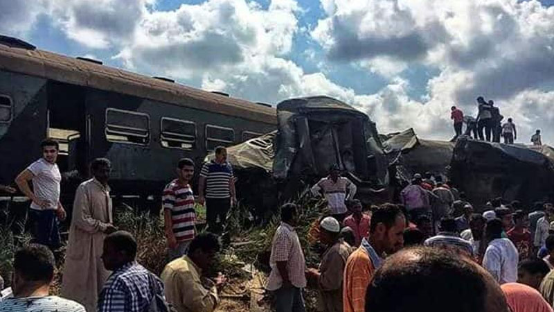 Train Collision in Egypt