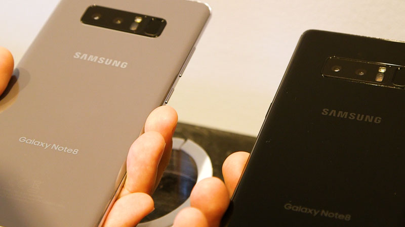 First Impressions: Samsung Galaxy Note 8 is big, bold and beautiful