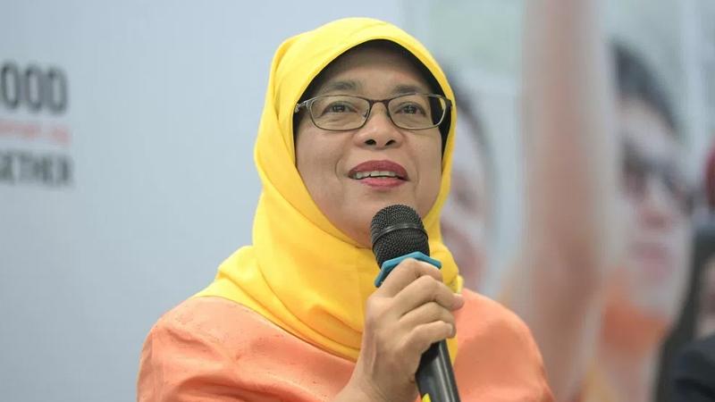 Halimah Yacob becomes first woman President of Singapore
