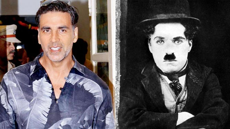 It's Charlie Chaplin who resides in Akshay Kumar's wallet
