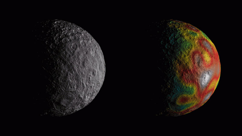 Studies show new evidence of ancient subsurface ocean on Ceres