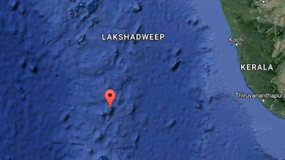 5.3 magnitude earthquake shakes in Lakshadweep
