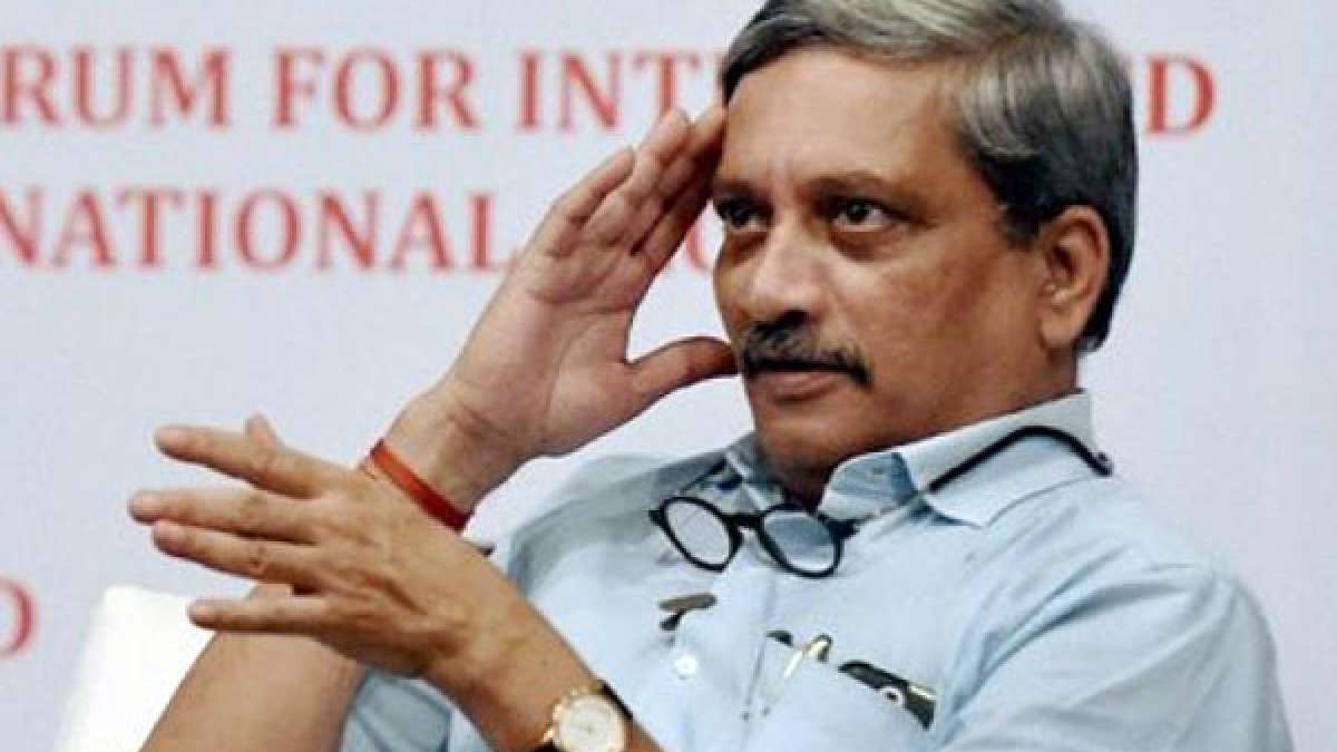 Defence Minister of India Manohar Parrikar