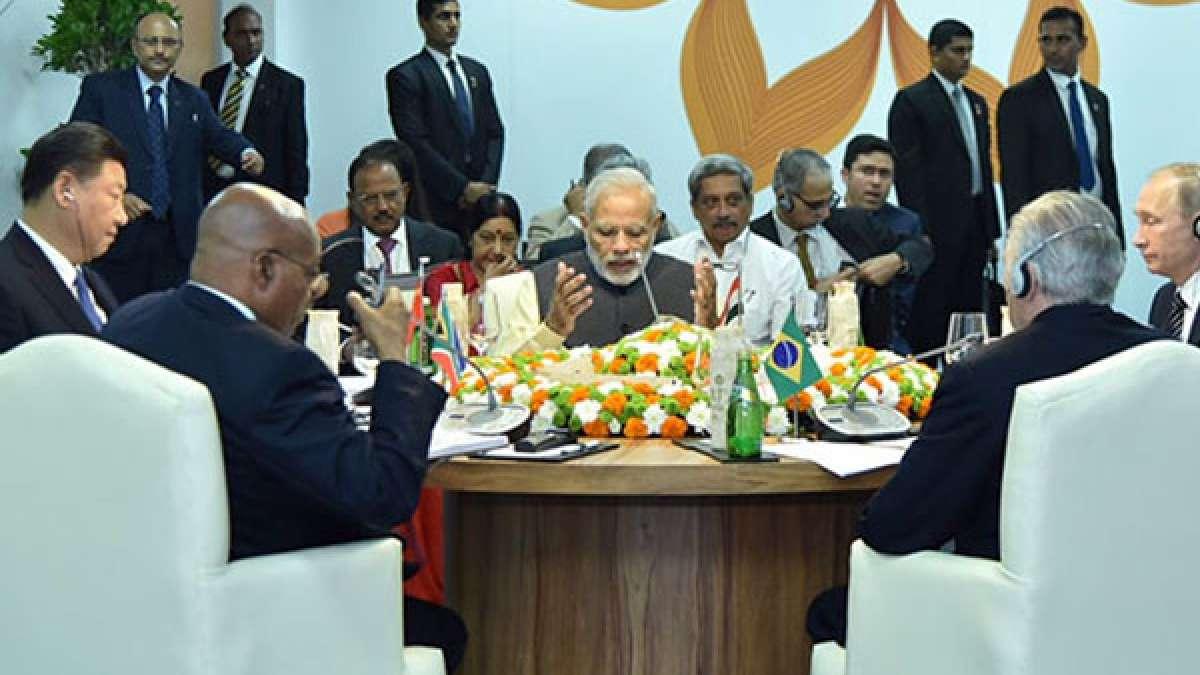 PM Narendra Modi at BRICS Summit