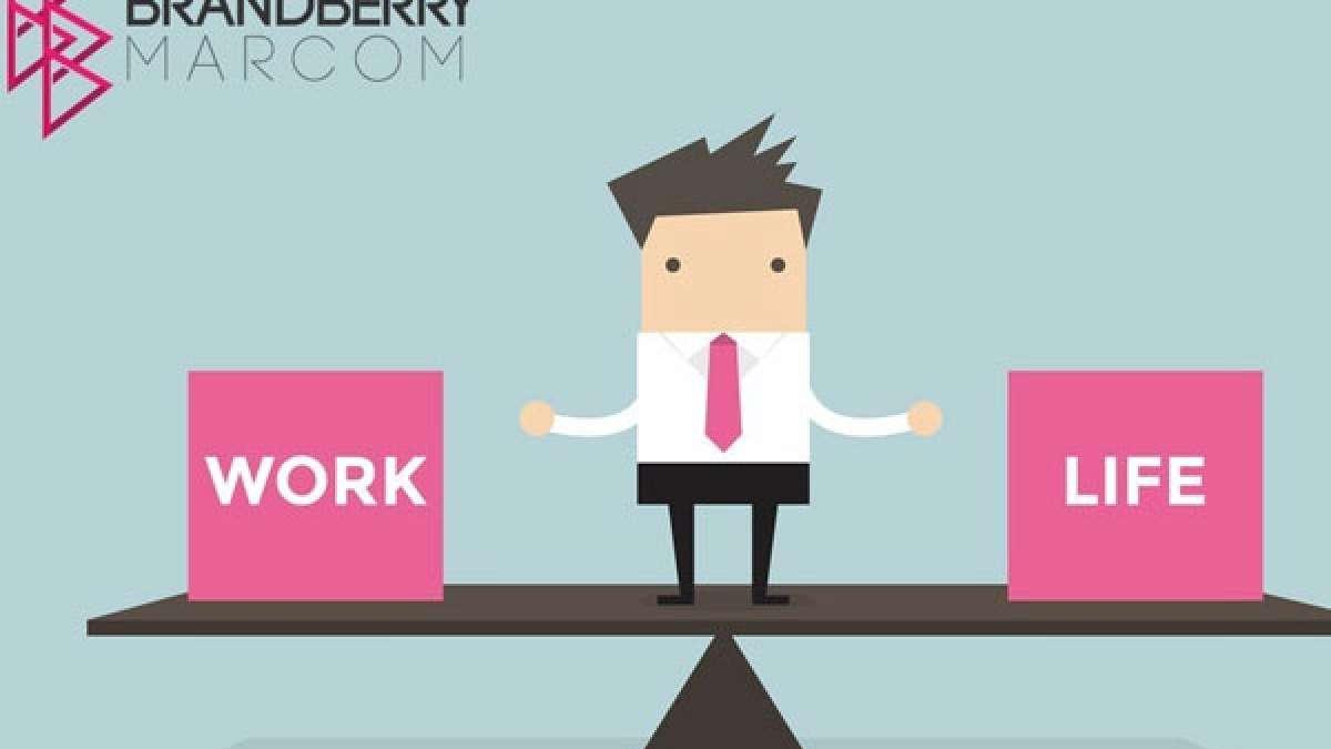 BrandBerry Marcom - A work place with balances work and life