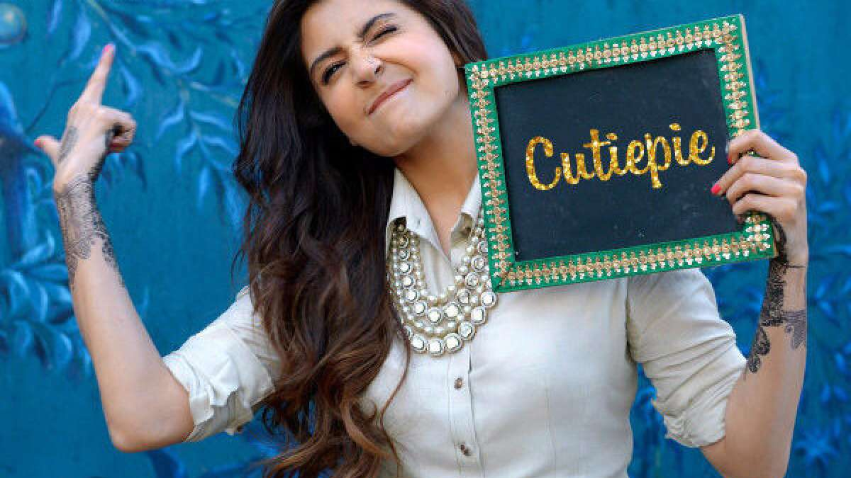 Anushka Sharma in fully filmi style for the new song - Cutiepie