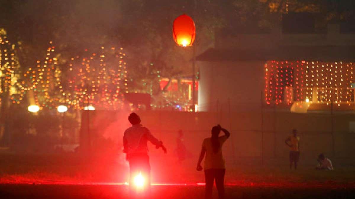Delhi enters severe zone after Diwali fireworks