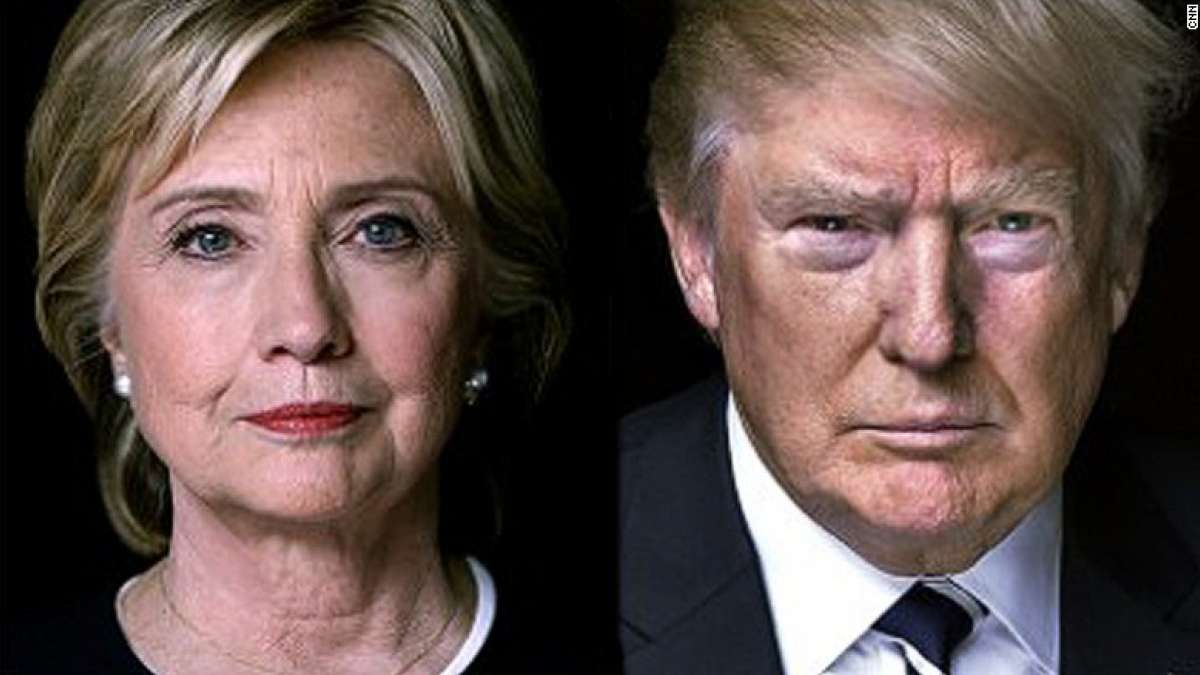 US election Day battle