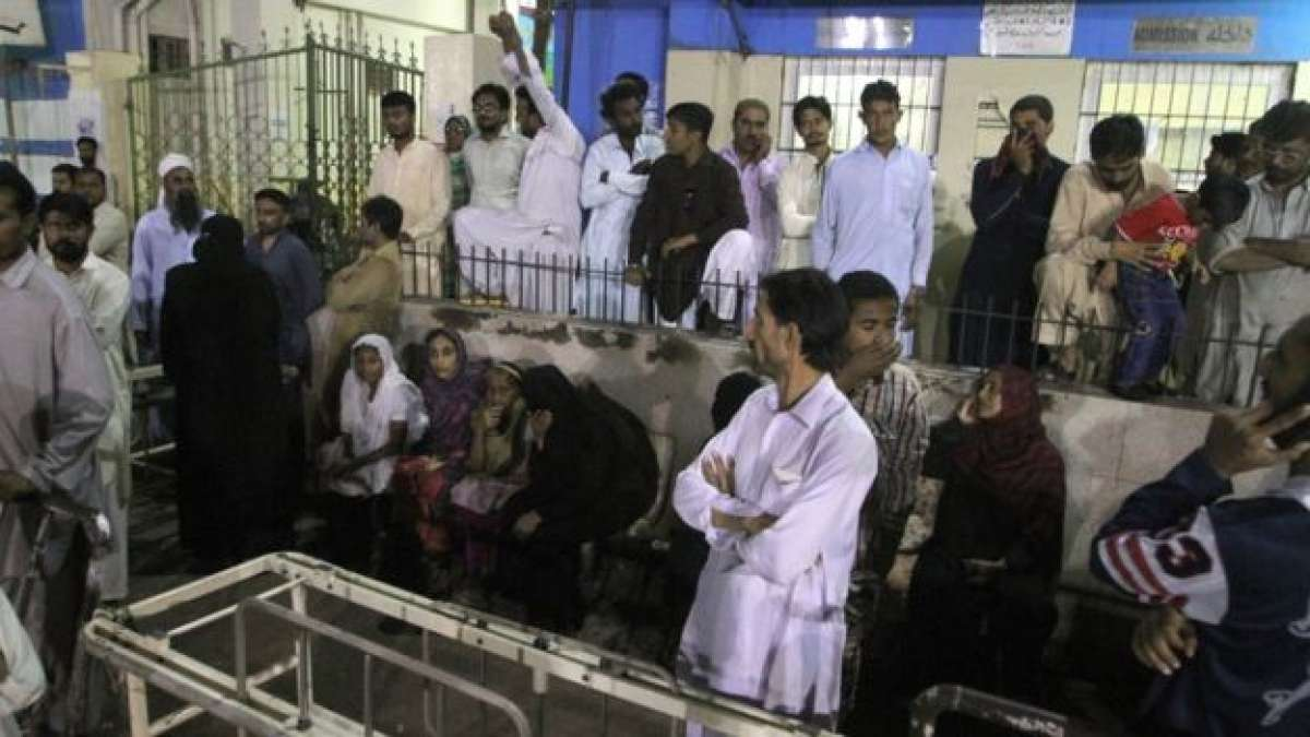 Pakistan sufi shrine blast
