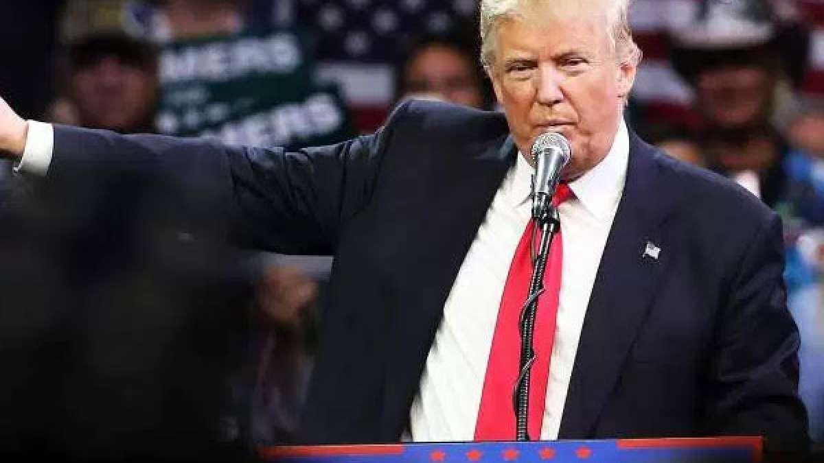 US President elect Donald Trump