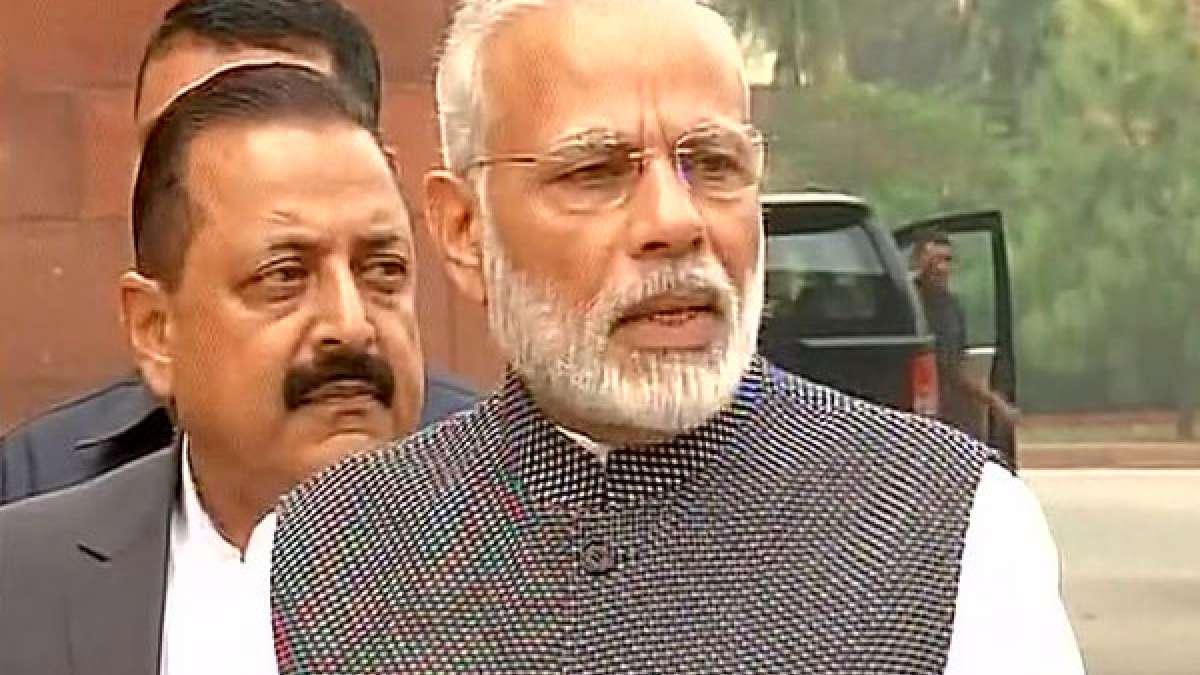 PM Narendra Modi ahead of Winter Session